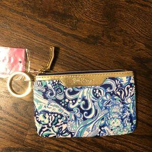 Lilly Pulitzer key ID card case NWT